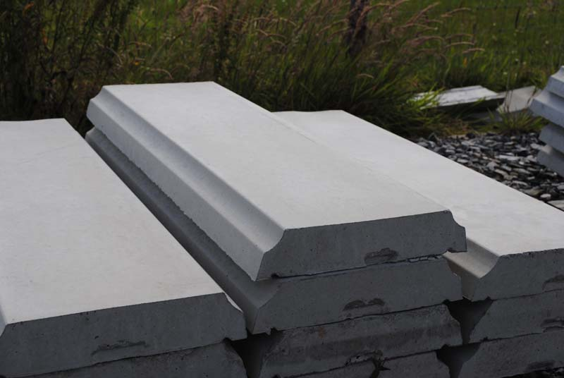 Precast Wall Coping : Inishowen concrete precast